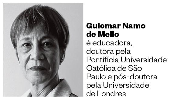 Guiomar Namo de Mello (Foto: Arquivo pessoal)
