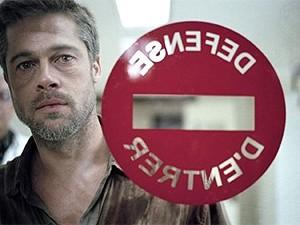 O ator Brad Pitt, em cena de 'Babel'.