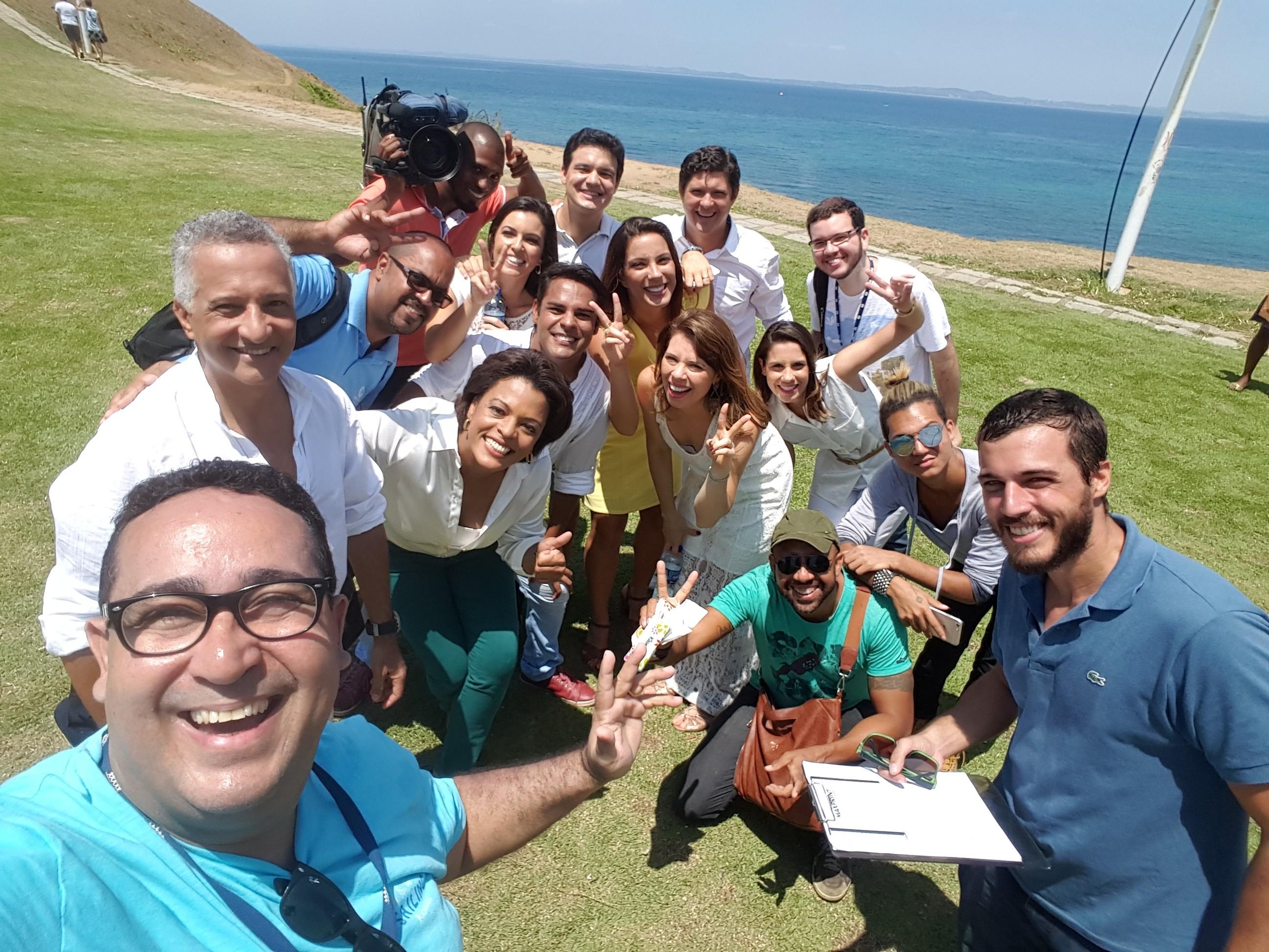 Chamada fim de ano TV Bahia (Foto: Arquivo Pessoal)