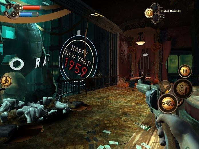 Bioshock rodando no iPad Air (Foto: Reprodução / Pocket Gamer)