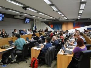 Conselheiros aprovaram redução de jornada na área da saúde (Foto: Fernanda de Freitas/ STU)