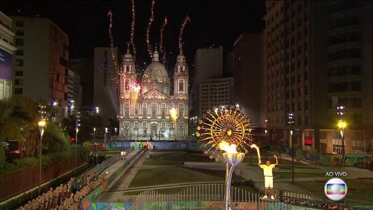 Cerimônia de abertura da Olimpíada Rio 2016 é encerrada na Candelária