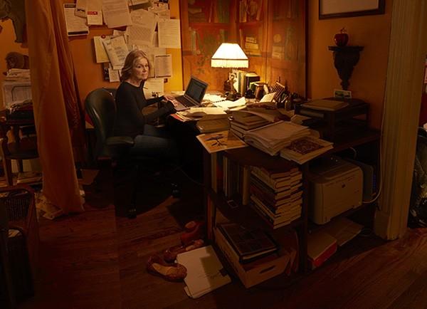 A escritora Gloria Steinem, em 2016. (Foto: Divulgação: Annie Lebovitz / Women: New Portraits)