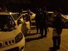 Cliente é sequestrada em 'saidinha de banco'  (PM/Divulgação)