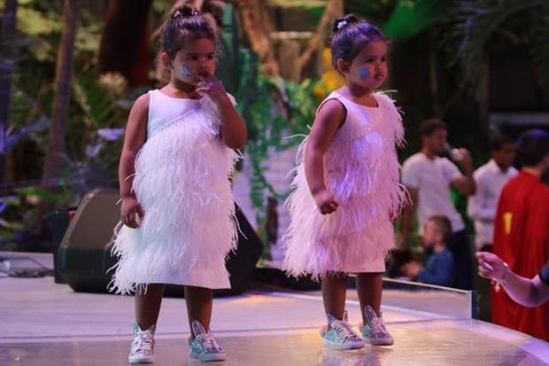 As gêmeas Rafaella e Sophia (Foto: Divulgação)