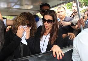 Família no enterro de Jair Rodrigues (Foto: Celso Tavares/EGO)