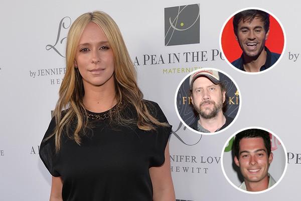 Jennifer Love Hewitt, Enrique Iglesias, Jamie Kennedy e Brian Hallisay (Foto: Getty Images)