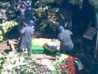 Corpo de Hebe Camargo é enterrado em São Paulo