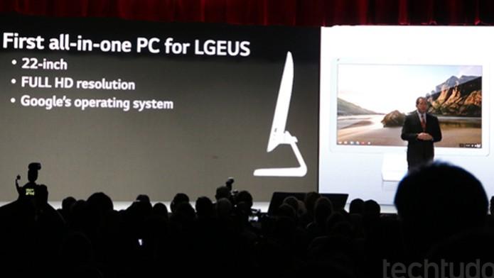 Conferência LG CES 2014 (Foto: Fabricio Vitorino/ TechTudo)
