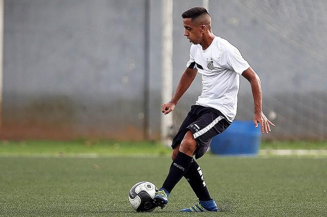 Giovane de Jesus (Foto: Pedro Ernesto Guerra Azevedo/Santos FC)