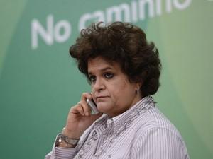 A ministra Izabella Teixeira, do Meio Ambiente, durante apresentação de balanço de sua gestão (Foto: Elza Fiuza/Agência Brasil)