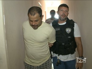 Carlos Humberto Marão Filho é suspeito de matar advogado Brunno Soares Matos (Foto: Reprodução/TV Mirante)