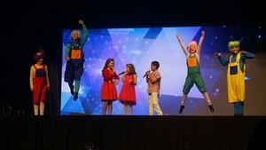 O primeiro show da Rafa Gomes celebrou as amizades que ela fez no The Voice Kids (Foto: Arquivo pessoal)