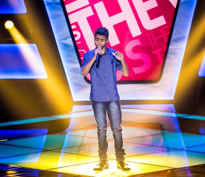 Cairo Henrique levou música de Luan Santana para o The Voice Kids (Foto: Isabella Pinheiro/Gshow)