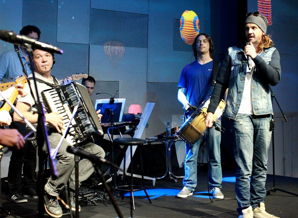 Canta, Luan (Foto: Carlos Cardeal Jr/Multishow)