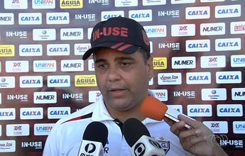 Cabo lamenta gol anulado e pênalti perdido pelo Atlético-GO em derrota