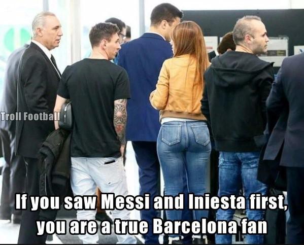 Boa forma de esposa de Messi rende brincadeiras na web durante Bola de Ouro | Blog Brasil Mundial FC