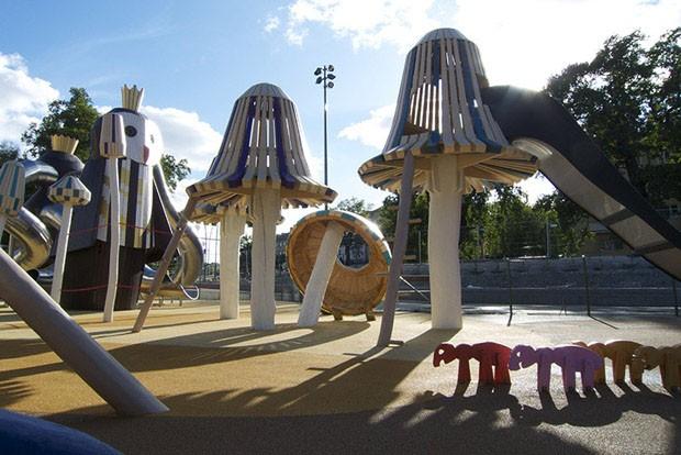 gcom design parquinho monstrum 10 Детские площадки Лучшие идеи от студии Monstrum. publichnyie mesta detskaya ploshhadka gorodskoy dizayn