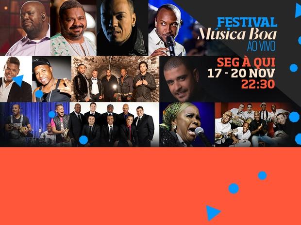msica boa ao vivo festival (Foto: Divulgao)