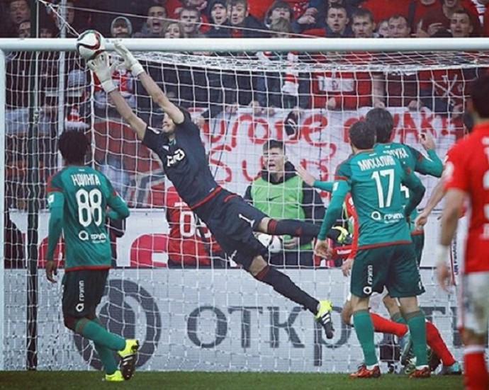 Guilherme Marinato goleiro Lokomotiv Moscou (Foto: Reprodução Instagram)