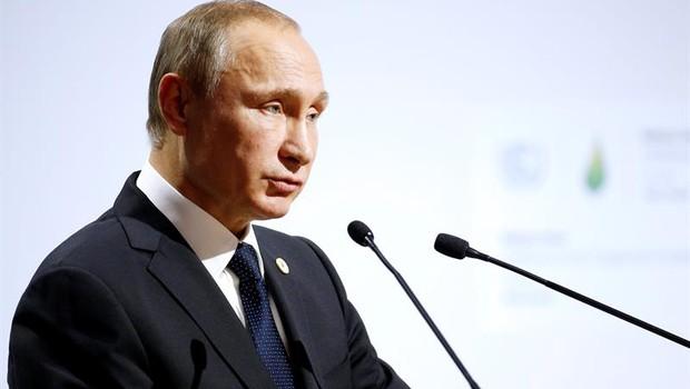 Vladimir Putin, presidente da Rússia (Foto: YOAN VALAT/ EFE)