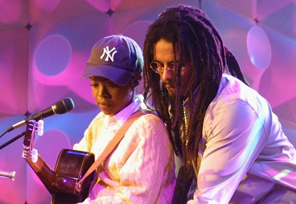 Lauryn Hill e Rohan Marley (Foto: Getty Images)