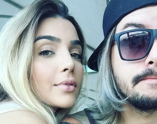 Pe Lanza e a namorada, Gabriela Merjan (Foto: Reprodução/Instagram)