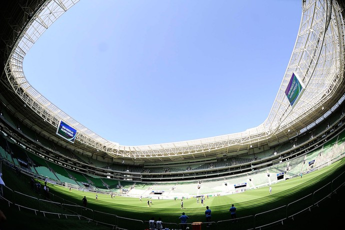 Treino Palmeiras Arena Palmeiras (Foto: Marcos Ribolli)