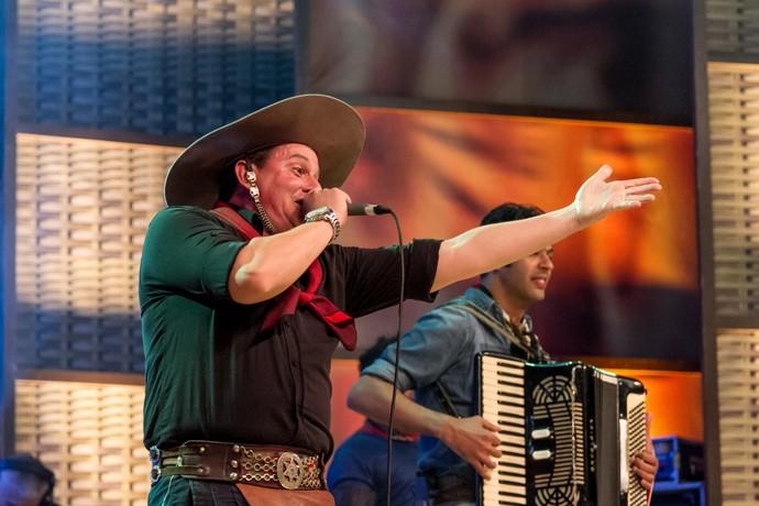 Luiz Cláudio & Baita Baile no 'Galpão Crioulo' em Três Coroas (Foto: Maicon Hinrichsen/RBS TV)