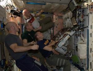 Astronauta Reid Wiseman  (Foto: Reprodução / Twitter)