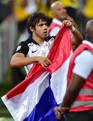Romero Corinthians Cobresal Libertadores (Foto: Marcos Ribolli)