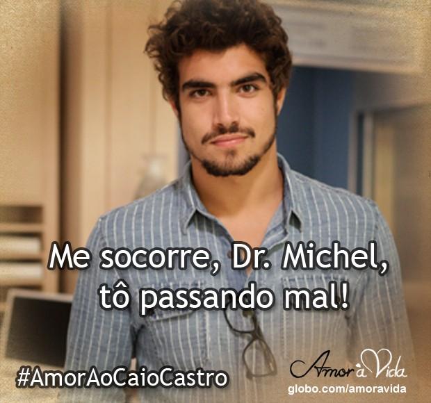 Me socorre, Dr. Michel (Foto: Amor à Vida / TV Globo)