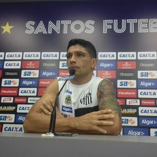 Renato - Santos (Foto: Lucas Musetti)