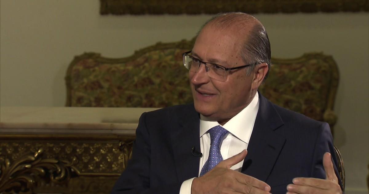 """""""Não tem sentido ter nova eleição no Brasil"""", diz Geraldo Alckmin"""