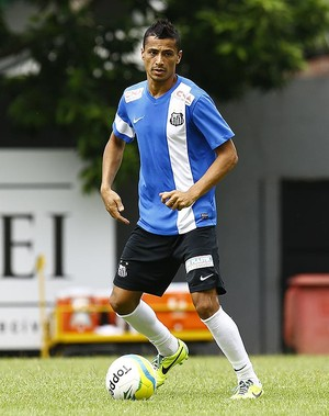 Cícero Santos (Foto: Ricardo Saibun/Divulgação Santos FC)