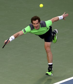 Andy Murray x Gilles Muller ATP de Dubai (Foto: Getty Images)