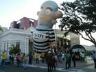 AL tem ato a favor do impeachment da presidente Dilma e contra corrupção