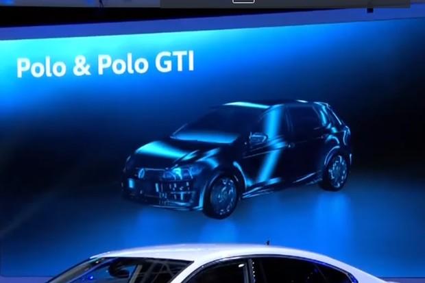 Novo Volkswagen Polo aparece em apresentação em Genebra (Foto: Divulgação)