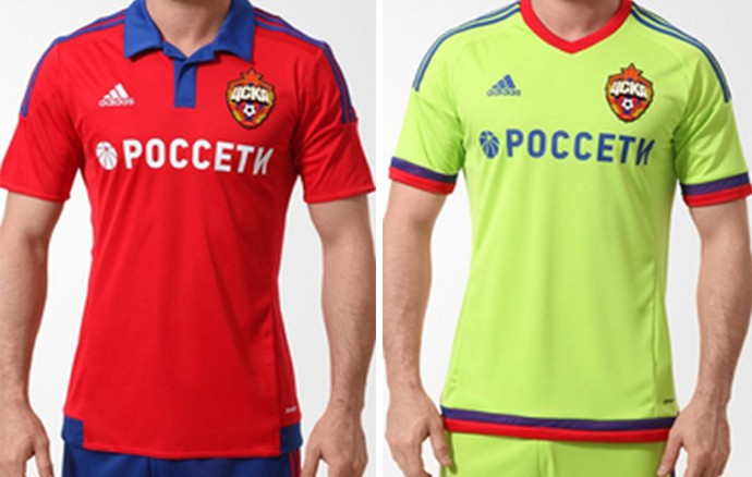 Camisas Champions CSKA