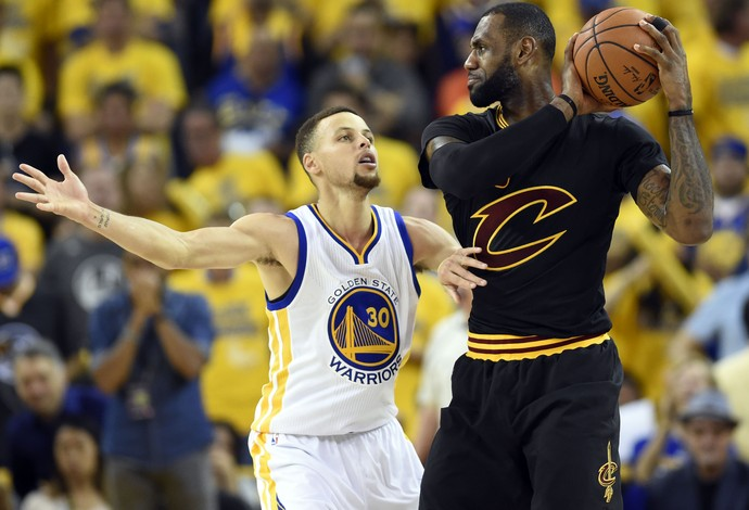Golden State x Cleveland - final da nba jogo 7 - lebron james x stephen curry (Foto: Reuters)