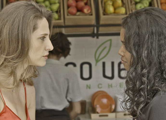 Tita arma o maior climão com Joana na Forma (Foto: TV Globo)