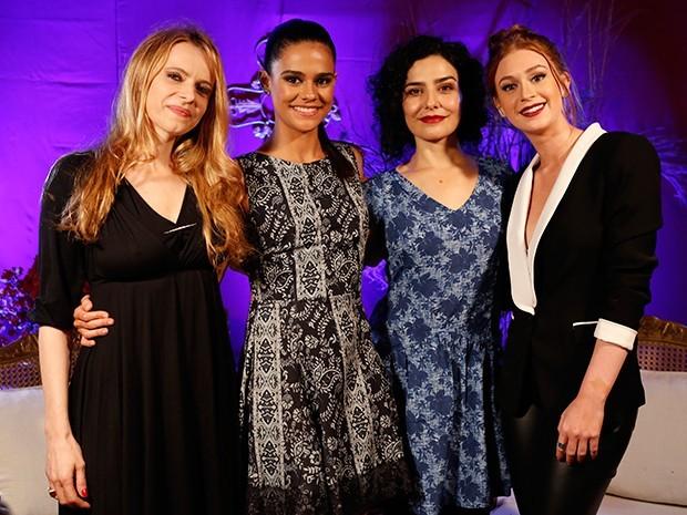 Maria Luísa Mendonça, Arianne Botelho, Letícia Sabatella e Marina Ruy Barbosa  (Foto: Ellen Soares / Gshow)