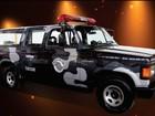 Exposição reúne carros usados pela Polícia Militar nos últimos 50 anos