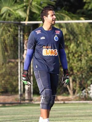 Goleiro Fábio, do Cruzeiro (Foto: Denilton Dias / Vipcomm)