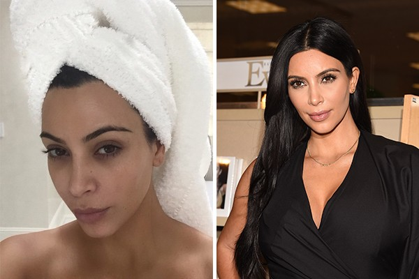 Kim Kardashian (Foto: Instagram e Getty Images)