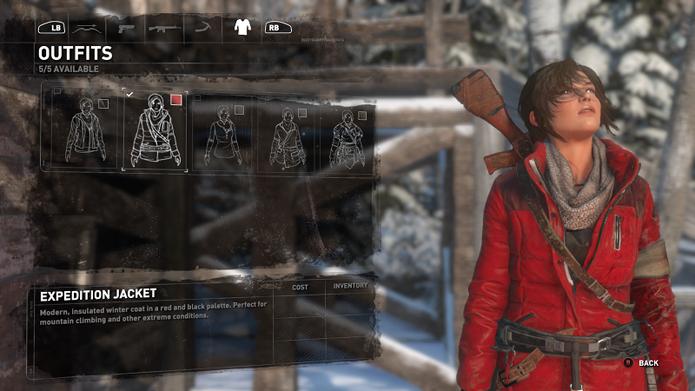 A Expedition Jacket é um dos primeiros uniformes do game (Foto: Reprodução/Twinfinite)