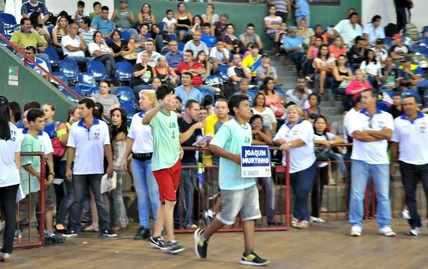 Cerimônia de abertura da 28ª edição dos Jogos Escolares (Foto: Divulgação/Funesp)
