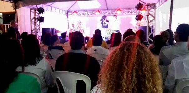 Tradicional missa da TV Gazeta recebe colaboradores da emisssora  (Foto: Divulgação/ Marketing OAM)