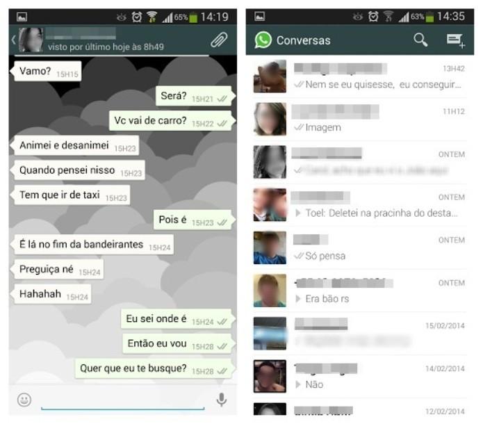 O WhatsApp é um dos aplicativos mensageiros mais famosos do mundo (Foto: Reprodução/Lívia Dâmaso)