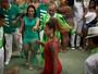 Luana Bandeira, do 'Caldeirão', samba muito em encontro de rainhas